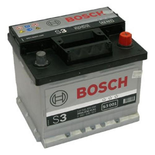 Autobatéria BOSCH S3/12V, 41AH, 360A - 0092S30010