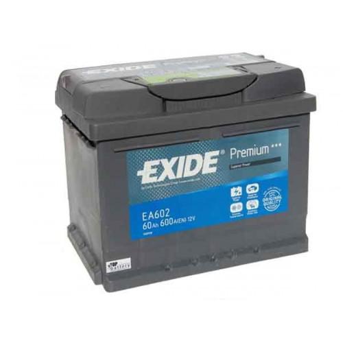 Autobatéria EXIDE Premium 12V 61Ah 600A – EA612
