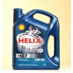 SHELL HELIX HX7 SAE 5W-40 4L