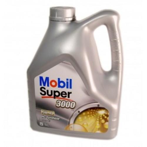 MOBIL SUPER 3000 X1 5W-40 4L