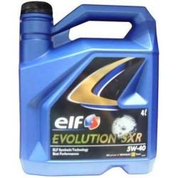 ELF EVOLUTION SXR 5W-40, 4L